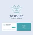 axe hatchet tool cutter viking business logo line vector image