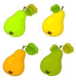 fruit pears vector image vector image