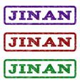 jinan watermark stamp vector image vector image