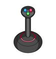 joystick for control single icon in cartoon style vector image vector image