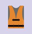 Life Vest Icon vector image vector image