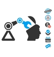 Open Head Surgery Manipulator Icon With Free Bonus vector image