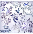 Set of vintage frosty floral branches vector image vector image