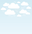 Sky birds2 vector image vector image