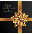 squared christmas banner design template styled vector image