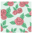 Vintage Rose Pattern vector image vector image