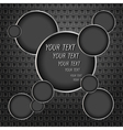 The background of the circles vector image