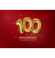 100th anniversary celebration number in form