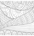 adult coloring bookpage a cute abstract floral