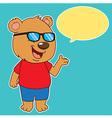 BearSay vector image vector image