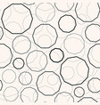 dotted polygons seamless pattern vector image