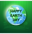 Happy Earth Day ilustration vector image vector image