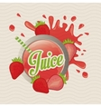 Juice icon design vector image vector image