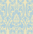 Light abstract striped floral pattern vintage vector image vector image