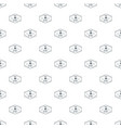 plastic 3d printing pattern seamless vector image vector image
