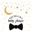 twinkle twinkle little star text with gold polka vector image vector image