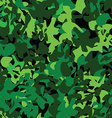 Military pattern vector image