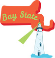 Bay State vector image vector image