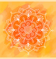 diwali indian pattern background vector image