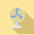 frame ventilator icon flat style vector image vector image
