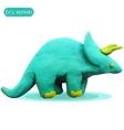 Icon of plasticine triceratops