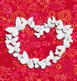 Love Butterflies vector image vector image