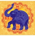 original indian pattern with elephant for vector image