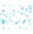 snow flakes falling macro graphics vector image