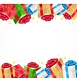 Present Background vector image