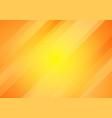 abstract yellow and orange gradient color oblique vector image vector image