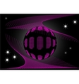 ball in cosmic web vector image vector image
