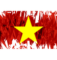 Flag of Vietnam vector image