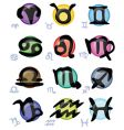horoscope Zodiac signs vector image