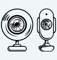 Webcam vector image vector image