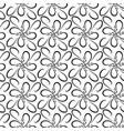 abstract seamless pattern fashion graphic on vector image vector image