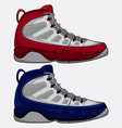 best basketball shoes vector image vector image