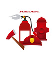 fire concept vector image vector image