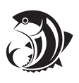 graphic fish vector image vector image