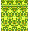 green salad orange abstract geometric seamless vector image vector image