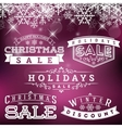Holiday Sale Labels vector image vector image