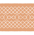 ikat tribal art print african rug vector image vector image