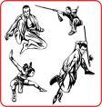 karate vector image vector image