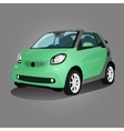 Printgreen compact vehicle vector image vector image