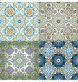 Set of Seamless Pattern In Islamic style vector image