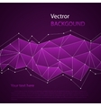 Triangles colored abstract background vector image vector image