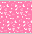 Baby seamless pattern background vector image vector image