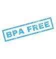 Bpa Free Rubber Stamp vector image