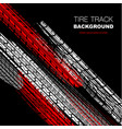 red and black tire track wallpaper vector image vector image