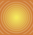 sun rays circle rays orange background spiral vector image vector image