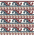Tribal colored pattern 3 vector image vector image